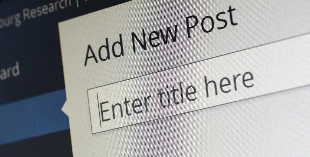 Arranca el Blog de Noticias