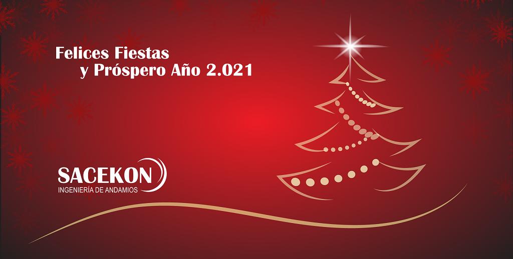 Felices Fiestas y Próspero 2.021